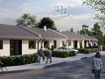 LEXXUS - PREDAJ, novostavba 3i útulného radového rodinného domu v štandarde s terénnymi úpravami, Ra
