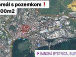 PREDAJ: Areál s pozemkom v priemyselnej časti BB o rozlohe 8.000 m2