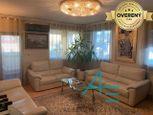 Luxusný zariadený byt s zasklenou lodžiou v Lamači.