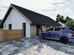 Novostavba 2 izbového domu blízko Prešova