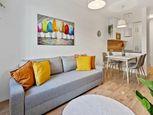 HERRYS - Na prenájom úplne nový kompletne zariadený 1,5 izbový byt s balkónom a vonkajším parkovacím
