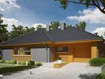 Nízkoenergetický  4 izb. bungalov s garážou na 7,5 á pozemku, Vinosady