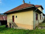 Menší domček vhodný aj ako chalupa Beňuš časť Filipovo