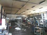 Na predaj priemyselná hala /výrobné-skladové-admin. priestory/, blízko Košíc