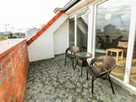 2izbový byt v novej nadstavbe s terasou na Nivách