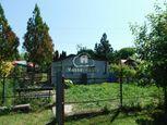 Na predaj záhrada s chatkou  v chatovej oblasti v Štúrove pri Dunaji