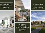 Predaj posledné 4 izbové byty so záhradkou Nitra  Rezidencia - Kynek