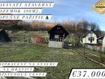 Stavebný pozemok na PREDAJ: rovinatých 490 m2 v obci Lopušné Pažitie