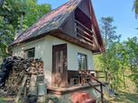 PREDAJ – pozemok so záhradnou chatkou, Púchov, 850 m2