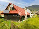 Ponúkame Vám na predaj rodinný dom - drevenica v Liptovskej Lúžnej