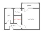 Hľadám na kúpu 2-garsónku alebo 2-i byt v Petržalke s loggiou/balkónom