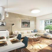 HERRYS - Na predaj 3 izbový byt s terasou v projekte Nový Ružinov