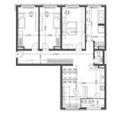 4i byt v novostavbe Retro - centrum 5.10