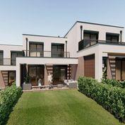SKOLAUDOVANÝ BYT B !!! Novostavba, dvojpodlažného 3 - izbového bytu, 3 parkovacie státia, terasa, ba