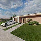 4-izb. nový RD, 142 m2, pozemok 964 m2 - Lubina, okr. Nové Mesto n/Váhom