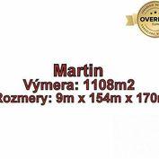 Martin - PRIEKOPA pozemok o výmere 1108 m2 v časti Ráztoky