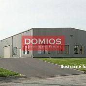 Predaj výrobno-sklad. areálu (haly, administratíva, parking)