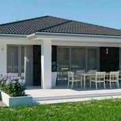Bývanie v novom dome pri Bratislave.
