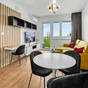 Krásny 2 izbový byt s balkónom a garážovým státím na Úderníckej ulici
