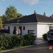 Na predaj moderný 4 izbový bungalov len niekoľko minúť od Nitry