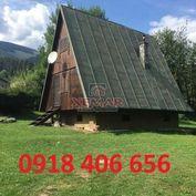 Na predaj rekreačná chata neďaleko Liptovskej Osady