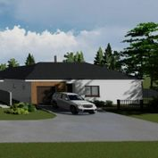 Na predaj novostavba 4-izbového rodinného domu s garážou v Kostolišti pri Malackách