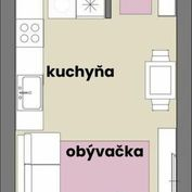 1 izbový byt v tehlovej novostavbe s podlahovým kúrením