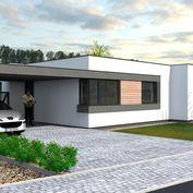TRNAVA REALITY - EXKLUZÍVNE - Vlčkovce - moderný 4 izbový rodinný dom typu bungalov, parkovanie a pr