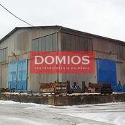 Prenájom výrob. priestorov (600 m2, ľavý trakt, nakl. rampa, vjazd, kancel., WC, KE-Juh)