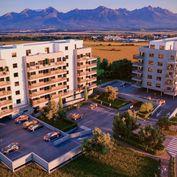 NAJKRAJŠÍ VÝHĽAD NA VYSOKÉ TATRY!!! 7. PODLAŽIE, 5-izbový byt 7S s TROMI TERASAMI na najvyššom 7.pod