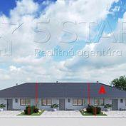 """REZERVOVANÉ!!! Novostavba 4 izbový rodinný dom """"A"""" radová zástavba Brunovce"""