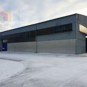 ** Na predaj priemyselná montovaná hala 991 m2 s kancelárskymi priestormi - Trenčianske Bohuslavice,