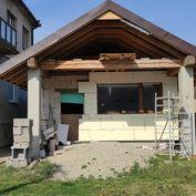 DOM S PROJEKTOM! MODRANSKÁ UL., ŠENKVICE, rozostavaný dom s pekným pozemkom, VG