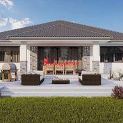 Na predaj novostavba, 4 izbový RD s garážou a s krytou terasou Povoda