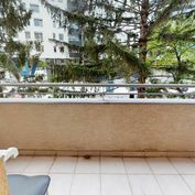 3D: 1-izb. byt, BA II Ružinov, PARK. STÁTIE, balkón, NÍZKE NÁKLADY