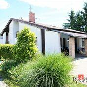 6 izbový rodinný dom vo výbornej kondícii s krásnym pozemkom, garážou a bazénom na predaj - Hurbanov