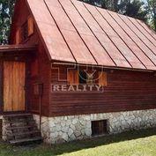 Na predaj priestranná chata v krásnom prostredí s úžitkovou plochou cca 114m2