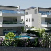 Nový penthouse s garáží a výhledem na moře, Murter, Chorvatsko