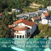 VÝRAZNE ZNÍŽENÁ CENA >>  7 izb. Villa v Bratislavskej Rači