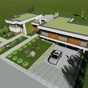 Luxusná vila s bazénom a domom pre hostí v Rovinke