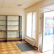 Veľký obchod 110 m2 výklad alarm super lokalita Krížna Staré Mesto - prenájom