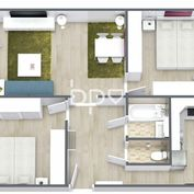 Ponúkame 3 izbový byt po kompletnej rekonštrukcii v Novom Meste nad Váhom na ulici Malinovského 1225