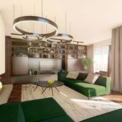 4i byt s terasou na najvyššom poschodí Zelené Vlčince D.801