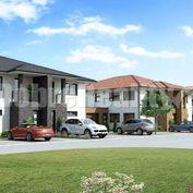 Nové 3-izbové byty na prízemí s 2 parkovacími miestami s možnosťou garáže v Galante