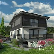DELTA | 5 izbový rodinný dom na úpätí Malých Karpát, Limbach