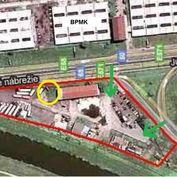 Nájom pozemku v areály Košice - Južné nábrežie