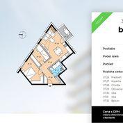 Ackerman & Wolff ponúka na predaj 3- izbový byt v novostavbe Element Lamač priamo od developera.
