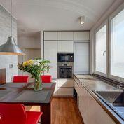 Slnečný 3 izb. byt s loggiou a krásnym výhľadom, Tománkova ul., Karlova Ves