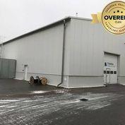 Výrobno-skladové haly 500m2 a 2600m2 s kanceláriami v stráženom areáli