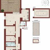 EXKLUZÍVNÝ 4-izbový BYT 116,81m²+59,61m² TERASA